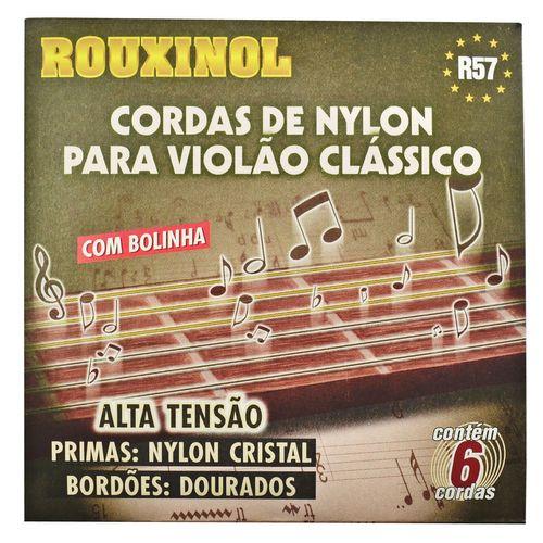 Encordoamento Nylon para Violão Clássico com Bolinha - Rouxinol