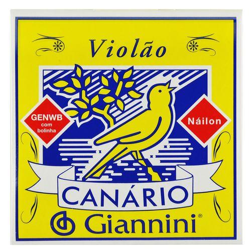 Encordoamento Nylon para Violão com Bolinha - Giannini