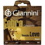 Encordoamento para Cavaco Gescl Serie Cobra Aco Leve Giannini