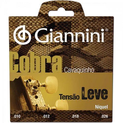 Encordoamento para Cavaco Gescl Série Cobra Aço Leve Giannini