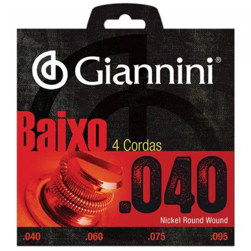 Encordoamento para Contra Baixo Geebrl 0.40 Giannini