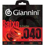 Encordoamento para Contrabaixo 5 Cordas Geebrl 0.40 - Giannini