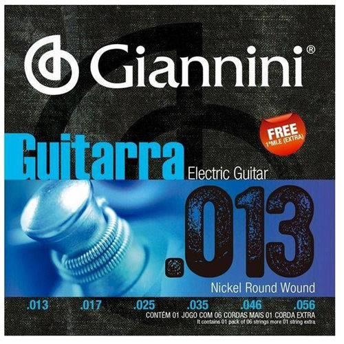 Encordoamento para Guitarra 013 Geegsth.13 - Giannini