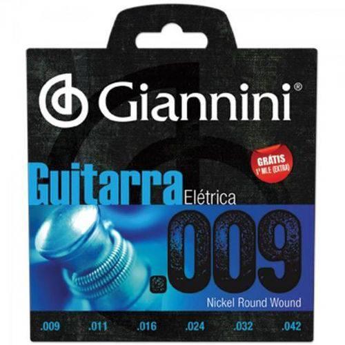 Encordoamento para Guitarra Geegst9 Super Leve 0.09 Giannini