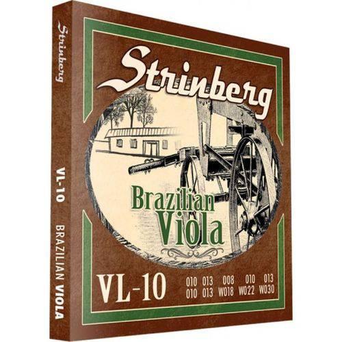 Encordoamento para Viola 10 Cordas Strinberg Vl-10
