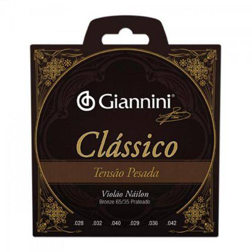 Encordoamento para Violão Genwpa Clássico Nylon Pesada Giann