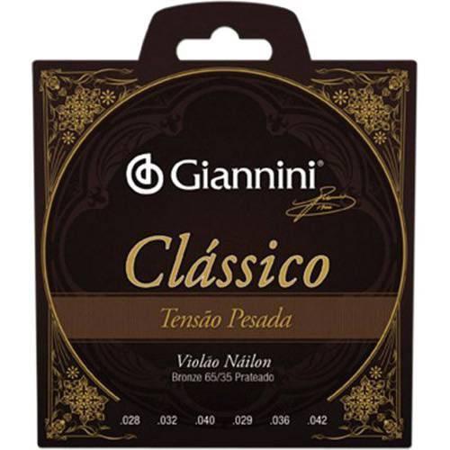 Encordoamento para Violão Genwpa Clássico Nylon Pesada - Giannini