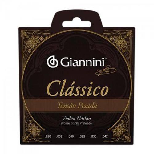 Encordoamento para Violao Genwpa Classico Nylon Pesada Giannini