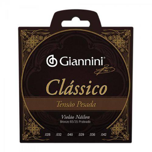 Encordoamento para Violão Genwpa Clássico Nylon Pesada Giannini