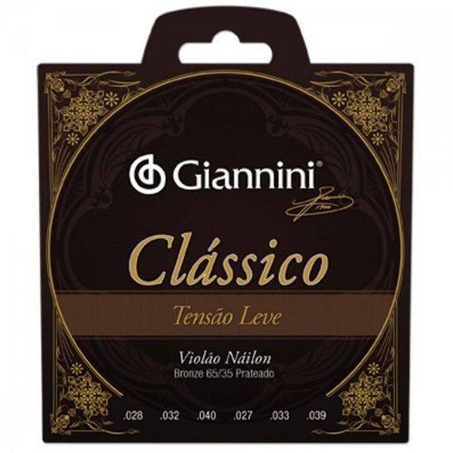 Encordoamento para Violão Genwpl Série Clássico Nylon Leve Giannini
