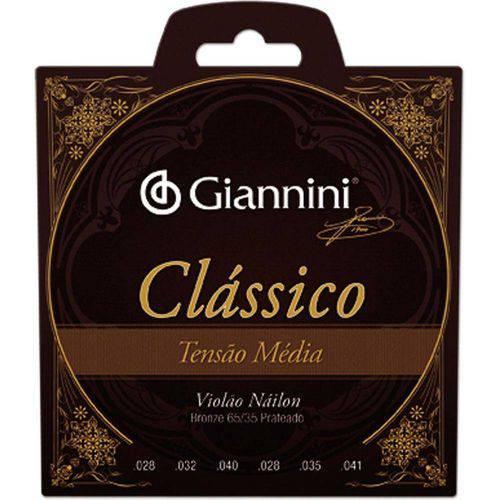 Encordoamento para Violão GENWPM Série Clássico Nylon Média - Giannini