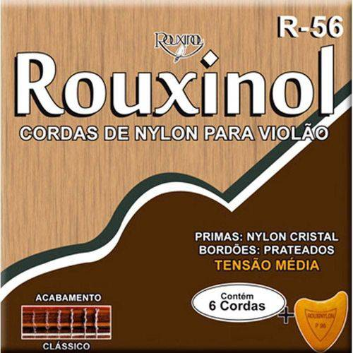 Encordoamento para Violão Nylon Cr/prateada