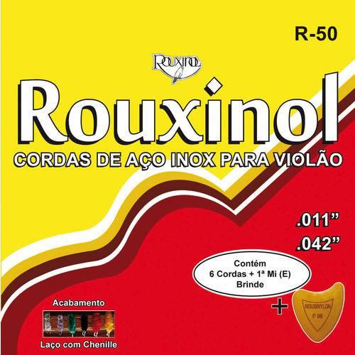 Encordoamento para Violão R50 de Aço Rouxinol com 12