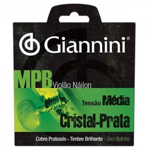 Encordoamento para Viol�o Genws S�rie Mpb Nylon M�dio Giannini