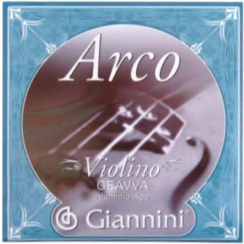 Encordoamento para Violino Geavva Série Arco Aço Médio - Giannini