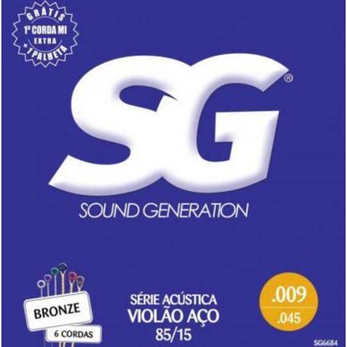 Encordoamento SG Violão Aço - 009