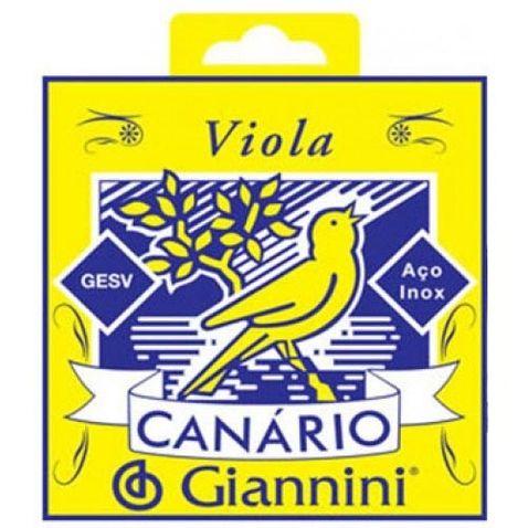 Encordoamento Viola Giannini Gesv C/ Chenilha