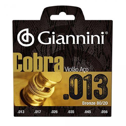 Encordoamento Violao Aco 013-056 Ca82m Giannini