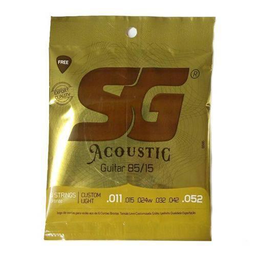 Encordoamento Violao Aco 011-052 Sg6686 Sg