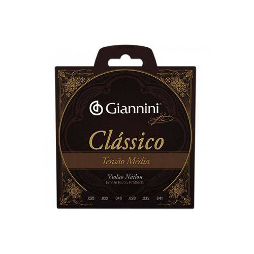 Encordoamento Violão Nylon Giannini Genwpm