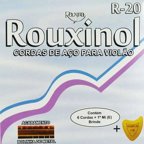 Encordoamento Violão Rouxinol R-20 Aço - com Palheta