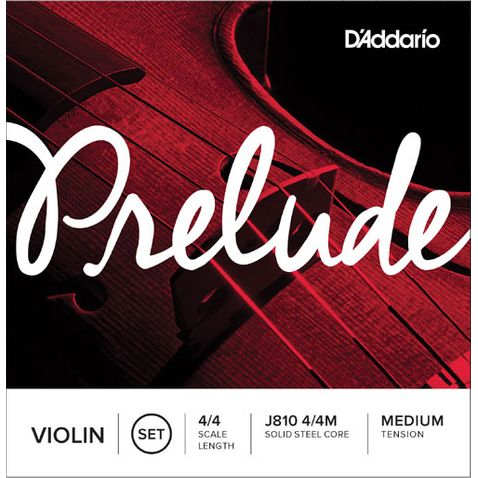 Encordoamento Violino D Addario J810 Prelude 4/4