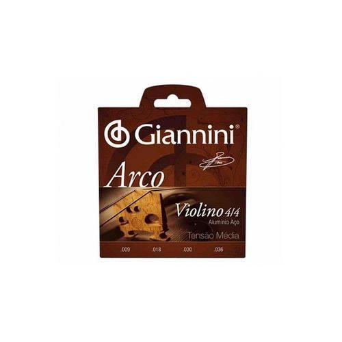 Encordoamento Violino Giannini Geavva