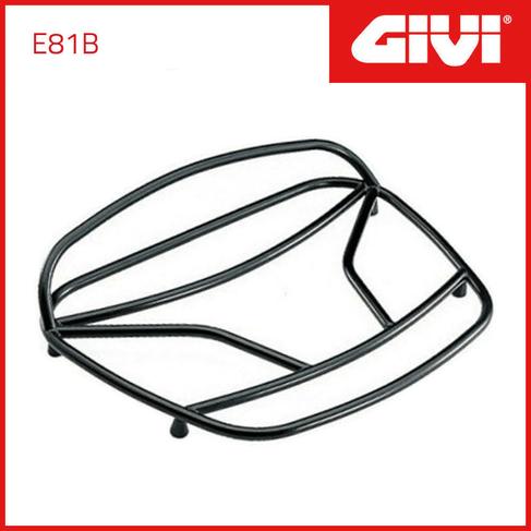 Encosto Traseiro Givi E81B para Bau E360 / E460 / E50 Preto