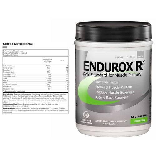 Endurox R4 - 1004g - Pacific Health - Lemon Lime