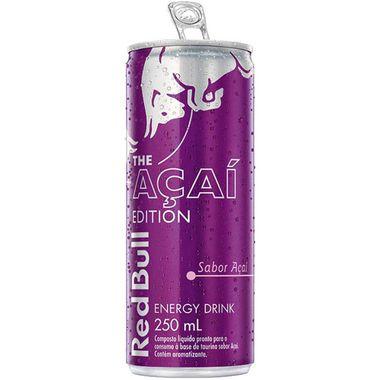 Energético Açaí Red Bull 250ml