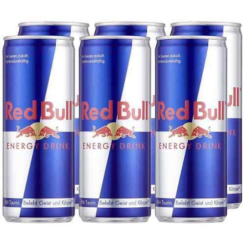 Energético Red Bull 250 Ml Energy Drink Kit com 12 Unidades