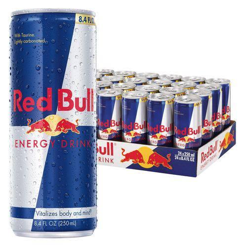 Energético Red Bull 250 Ml Energy Drink Kit com 18 Unidades