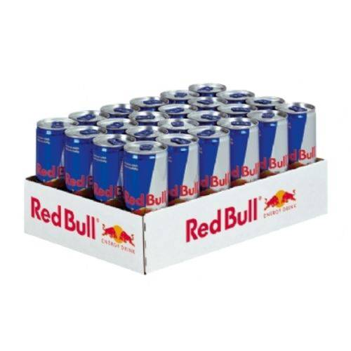 Energético Red Bull - Pack com 24 Unidades