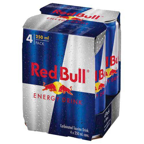 Energético Red Bull - Pack com 4 Unidades