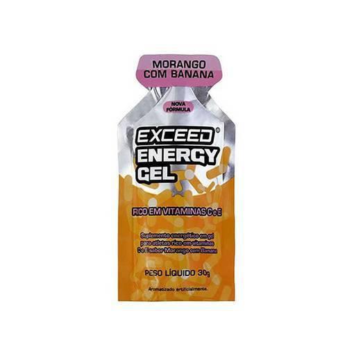 Energy Gel - Morango com Banana