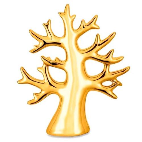 Enfeite Árvore Decorativa Dourada