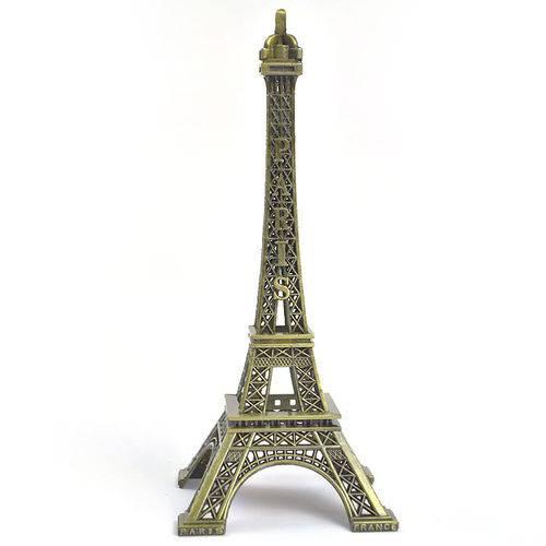 Enfeite de Mesa Torre Eiffel Paris - 10 Cm