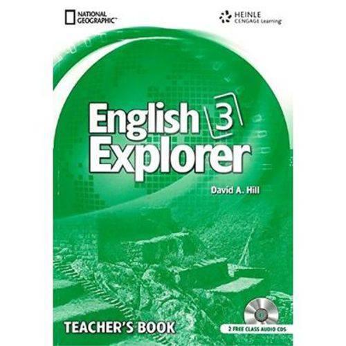 English Explorer 3 - Teacher''s Book + Class Cd - 1ª Ed. 2011