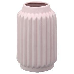 Engrenar Vaso Decorativo 16 Cm Quartzo Rosa