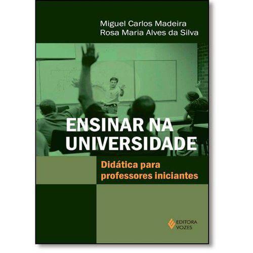 Ensinar na Universidade: Didatica para Professores