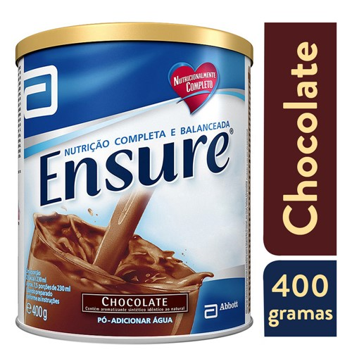 Ensure Chocolate Suplemento Alimentar 400g