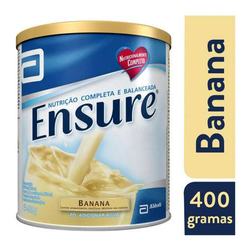 Ensure Suplemento Alimentar em Pó Sabor Banana 400g