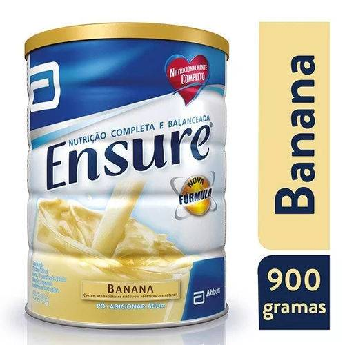 Ensure Suplemento Alimentar em Pó Sabor Banana 900g