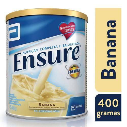Ensure Suplemento Alimentar Sabor Banana Pó 400g