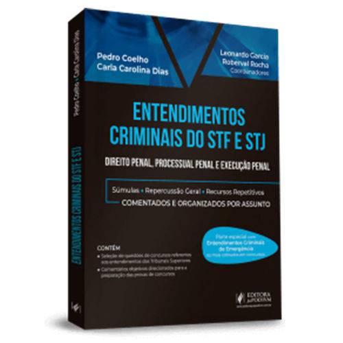 Entendimentos Criminais do Stf e Stj