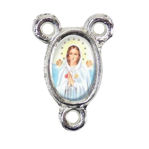 Entremeio Nossa Senhora Rosa Mística | SJO Artigos Religiosos