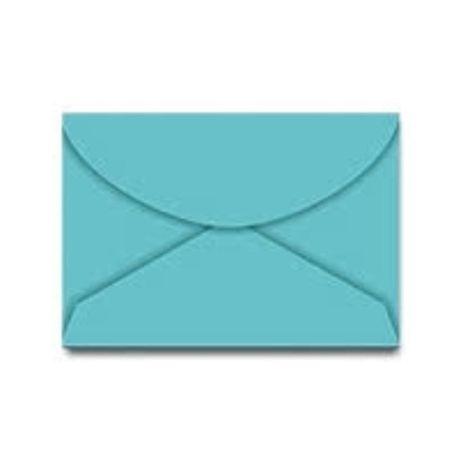 Envelope Carta 114x162mm 55 Unidades Foroni - Azul Turqueza