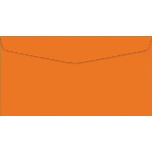 Envelope Oficio Colorido Laranja Color Plus 80g. Foroni Cx.c/100