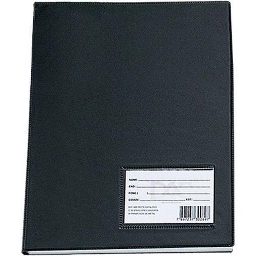 Envelope Plastico Oficio 4furos Fino 0,06mm Pct.c/50 Dac