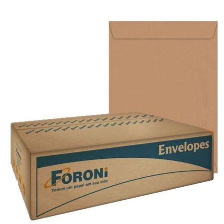 Envelope Saco Kraft Natural 229x324mm 250 Unidades Foroni
